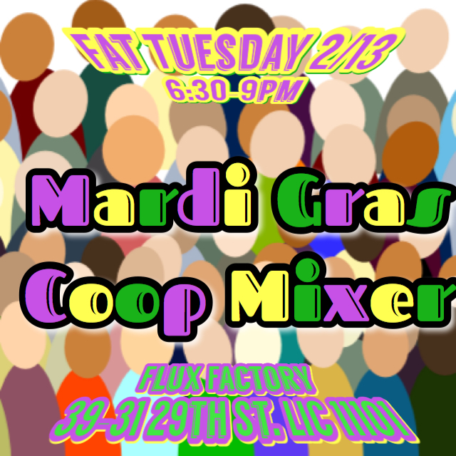 Mardi Gras Co-op Mixer