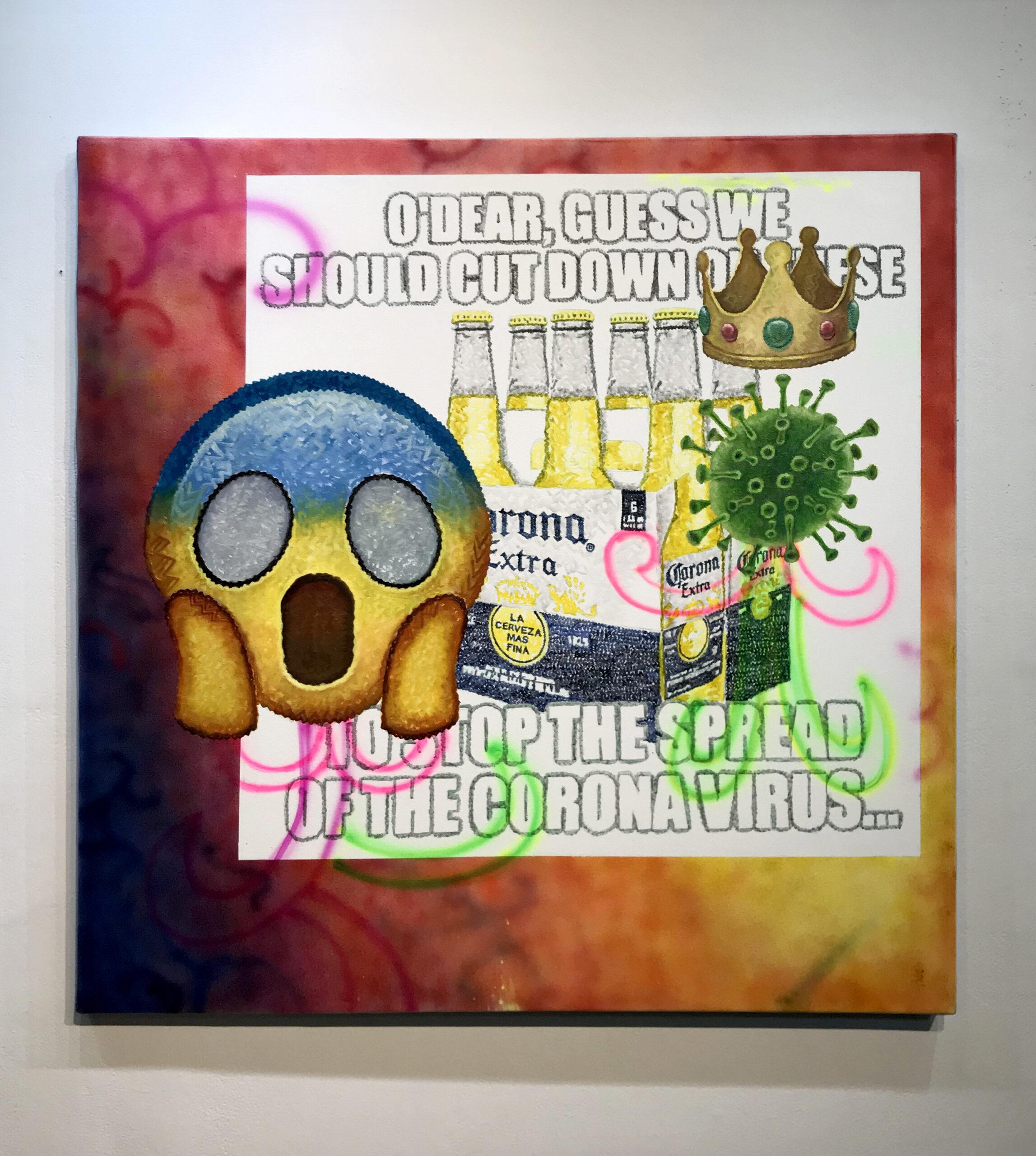 9. Corona meme + The Scream