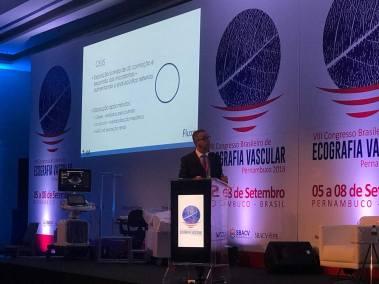Curso Básico de Ecografia Vascular com Doppler Pré-congresso  - Congresso Brasileiro de Ecografia Vascular - Robson Miranda 2