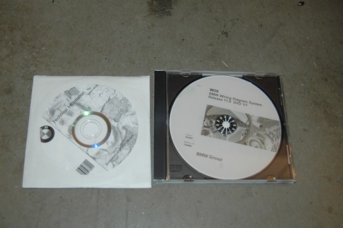 wds and tis dvd's bmw wiring system and repair data  bmw 3