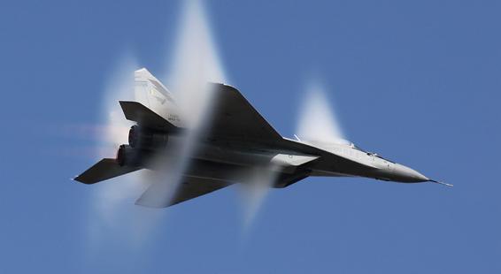 supersonic flight mig 29