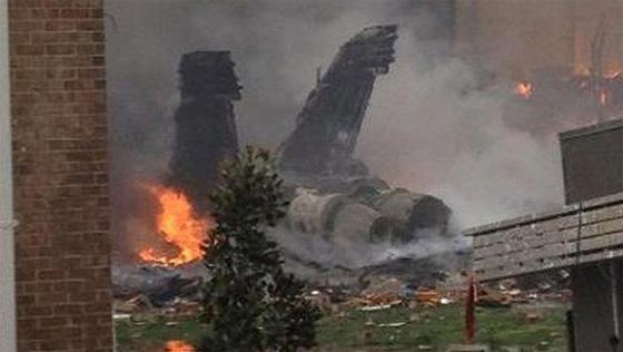 f-18 crash