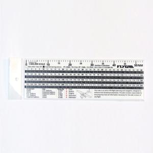 TA-1 Flight Fuel Calculation Ruler (Plotter)