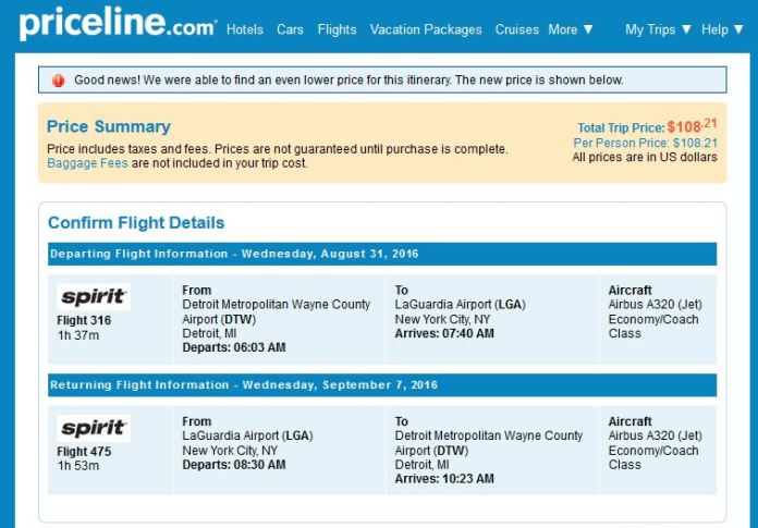 109 Detroit To New York City Nonstop R T Fly Com Travel Blog