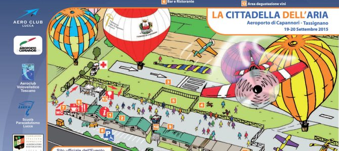Fly Air Events 2015 – Disponibili per il download mappa e programma.