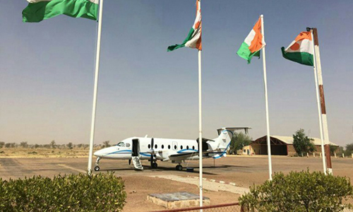 B200 Awaiting For A VIP In Niamey