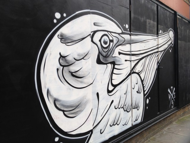 Street Art Shoreditch. Propiedad de Fly and Grow©