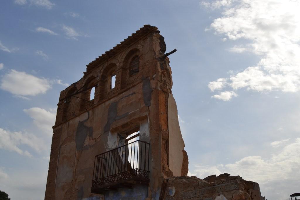 Visita a Belchite antiguo