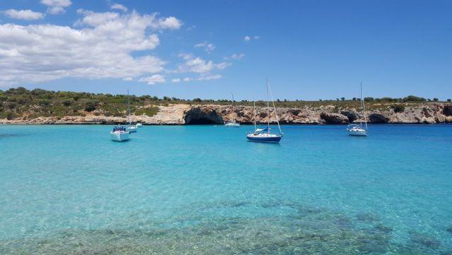 Cala Varques en Mallorca. Propiedad de FlyandGrow