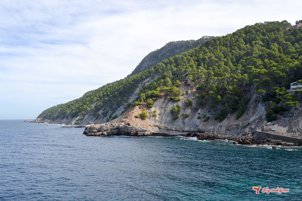 Playa de Cala Banyalbufar