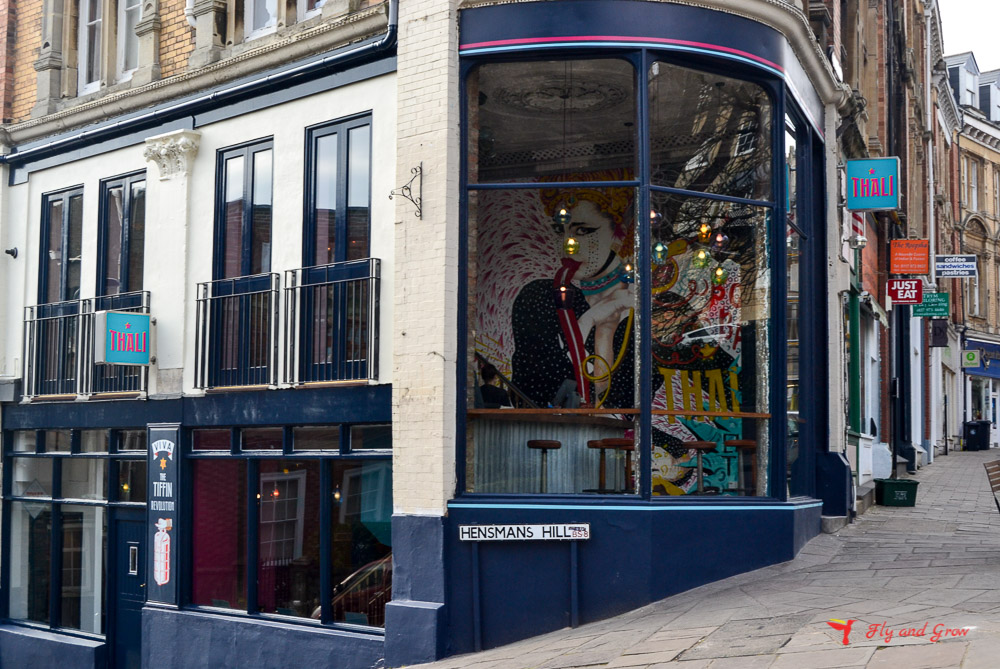 tienda vintage de Clifton Village