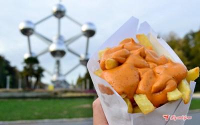 Las mejores patatas fritas -frites- de Bruselas