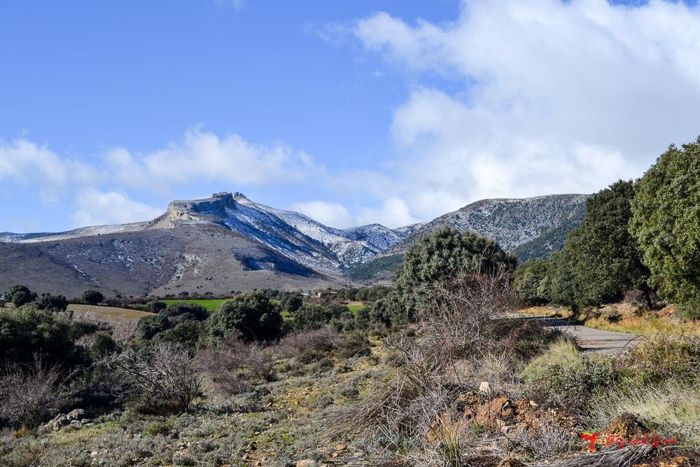 Inicio de ruta Peñas de Herrera