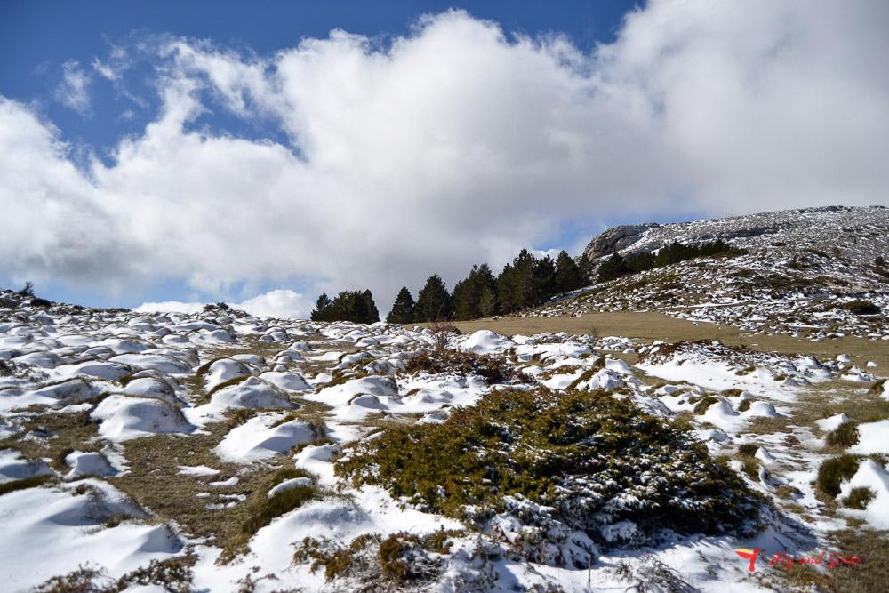 Moncayo con nieve en primavera