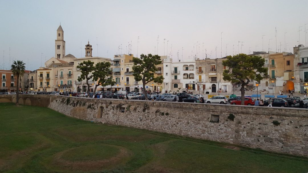 Castillo que ver en Puglia: castillo de Bari