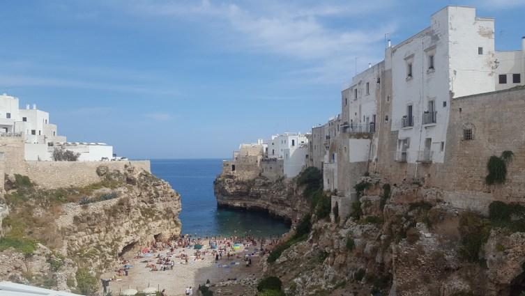 Playa en ruta por Puglia