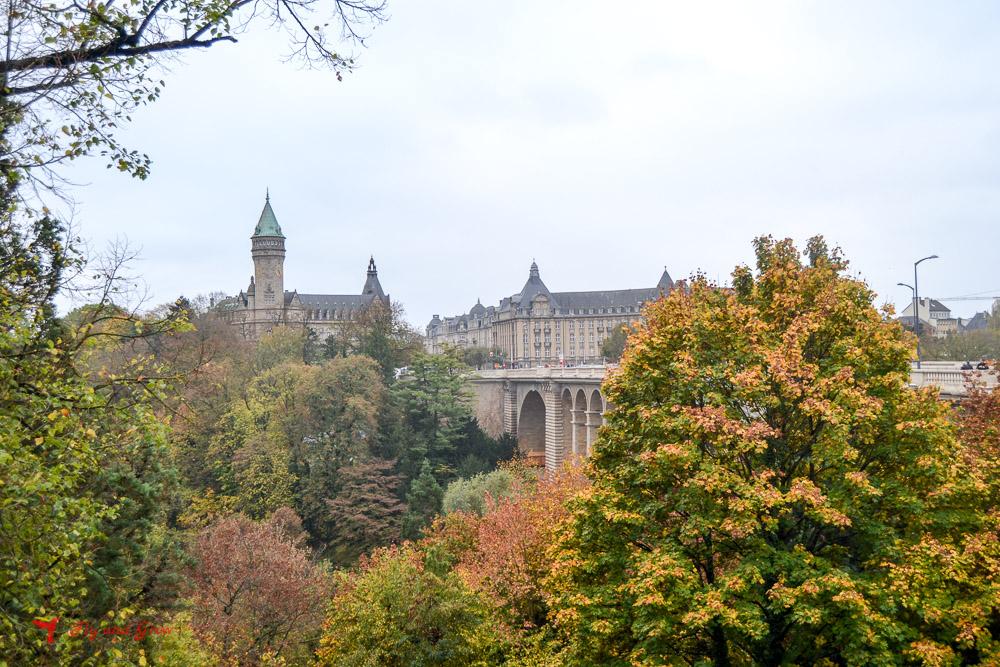 Vistas desde Puente Adolphe