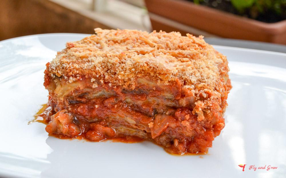 Platos de la cocina italiana