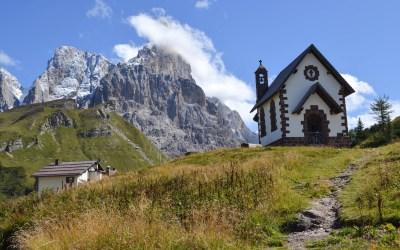 Ruta de una semana en los Dolomitas