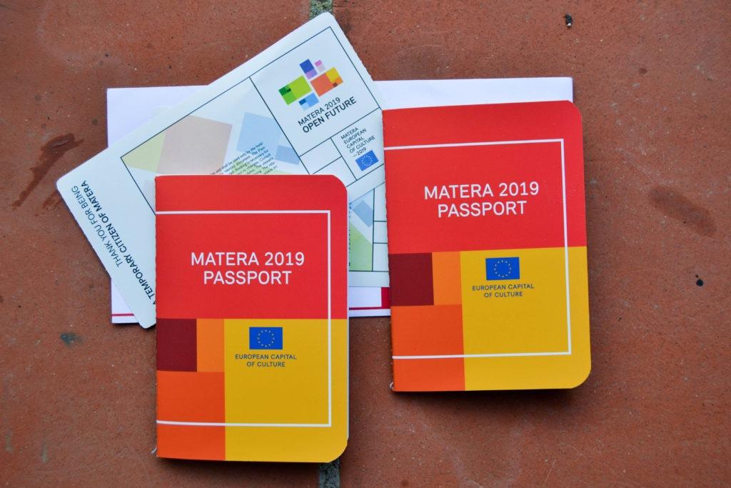Pasaporte Matera 2019
