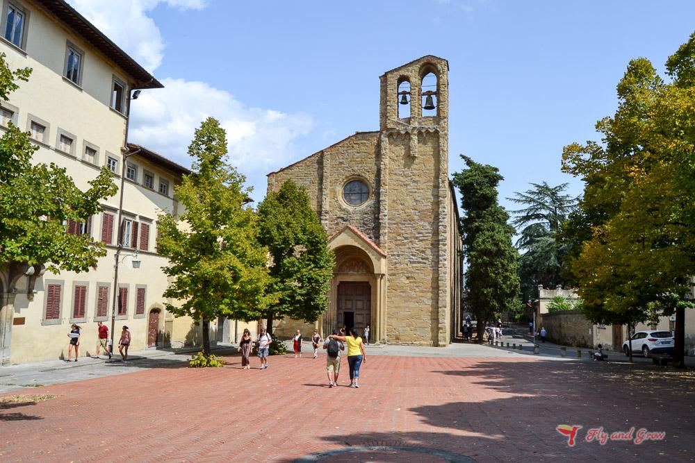 Iglesia de San Domenico, Arezzo