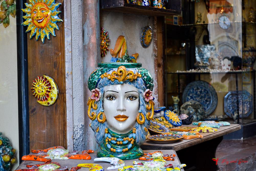 cerámica de Sicilia