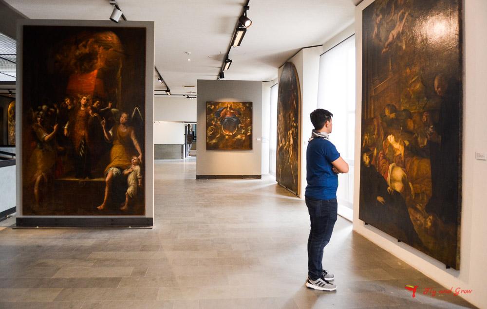 Sala del Museo Regional de Mesina