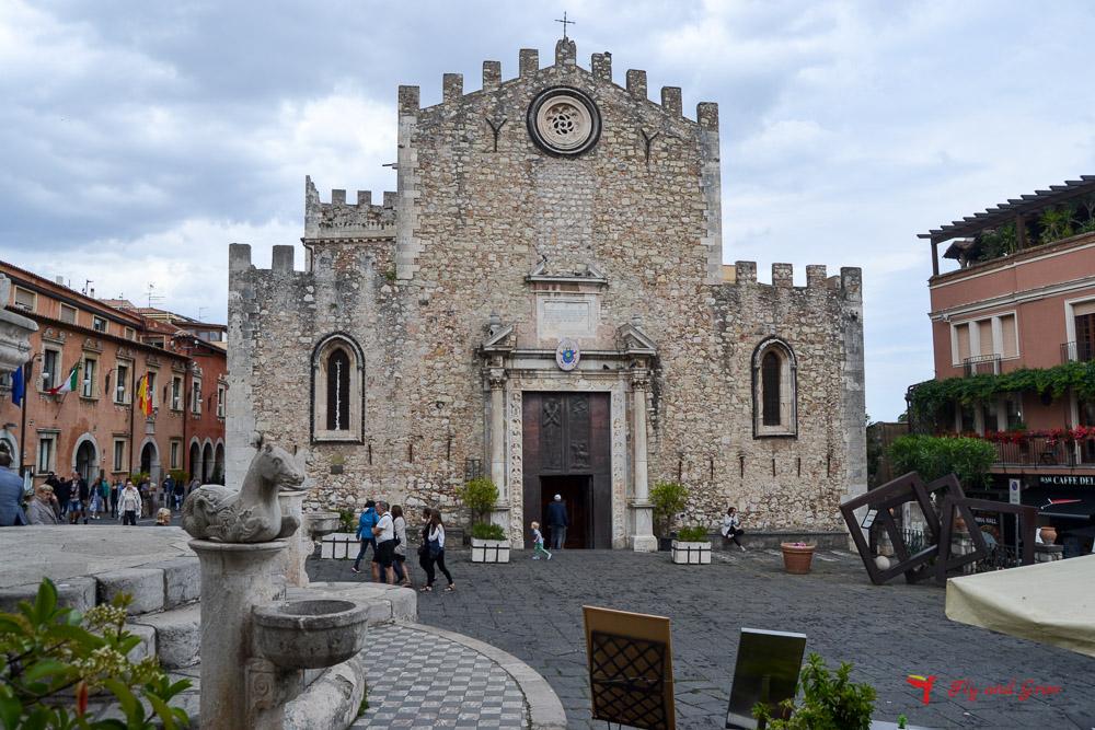 Plaza del Duomo de Taormina