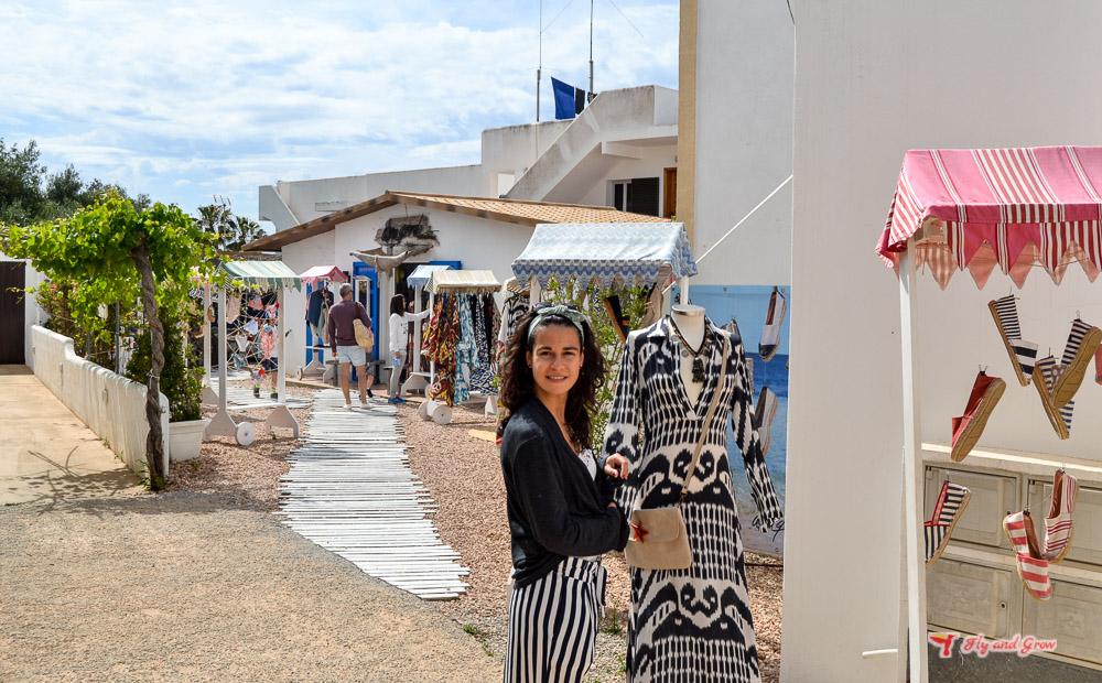 tienda de Formentera