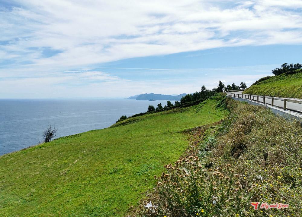 Vistas de la Costa de Vizcaya