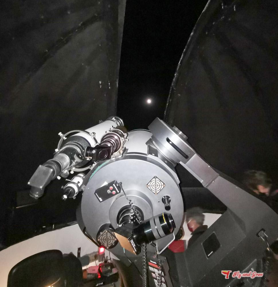 visita al observatorio de Borobia