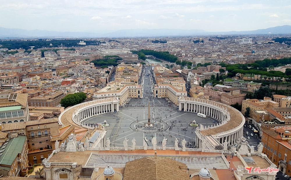 Plaza de San Pietro, Vaticano