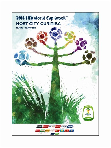 World Cup Poster Curitiba