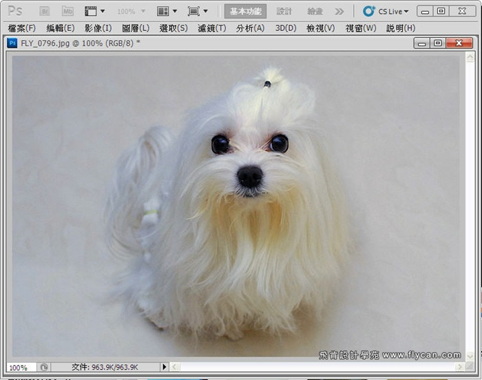 Photoshop 後製修圖  - Photoshop 教學 - 校正色彩 - 仿自動白平衡 - 速成篇 - fly13_thumb