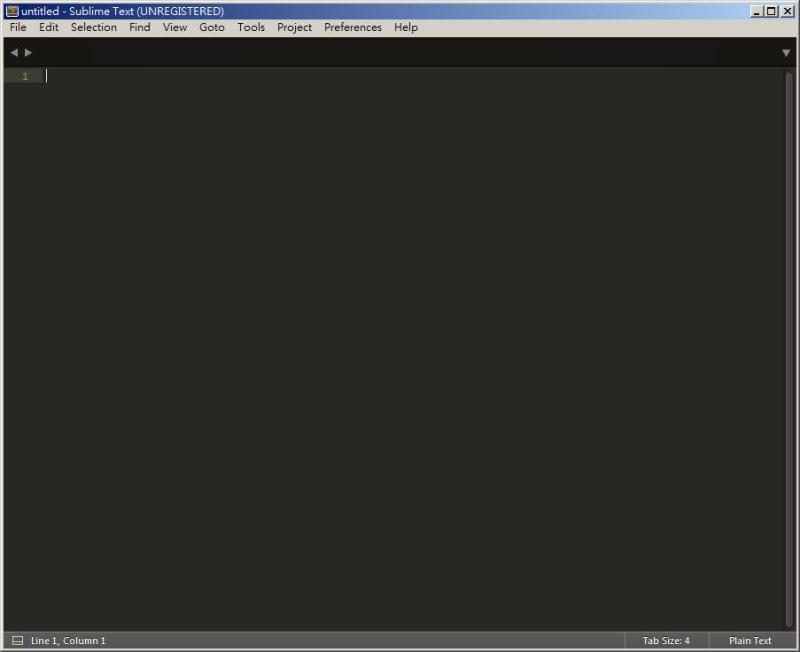 CSS 教學 - 網頁排版 Dreamweaver 網頁設計 Free Resource 好康報報 JavaScript 程式設計 RWD 響應式網頁  - 教學:Sublime Text 的安裝設定及入門操作 - [ 上篇 ] - sub-07