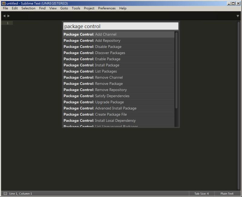 CSS 教學 - 網頁排版 Dreamweaver 網頁設計 Free Resource 好康報報 JavaScript 程式設計 RWD 響應式網頁  - 教學:Sublime Text 的安裝設定及入門操作 - [ 上篇 ] - sub-11
