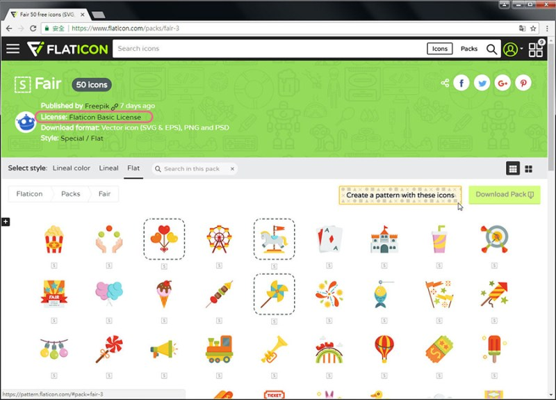Free Resource 好康報報 Good Design 好站報報  - 【設計資源】FLATICON-自行挑選icon打包免費下載-還可線上製作Patterns! - flaticon-19