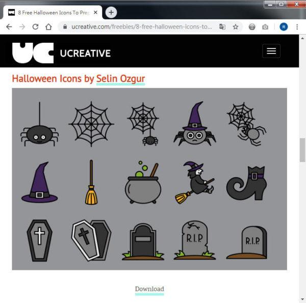Free Resource 好康報報 Good Design 好站報報  - 【設計資源】Halloween 免費素材下載 - halloween01-e1572426396576