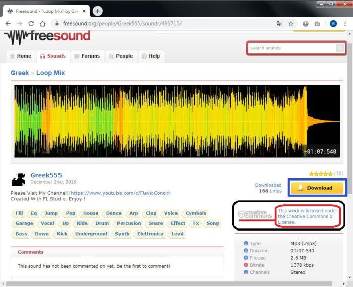 Free Resource 好康報報 Good Design 好站報報  - 【設計資源】 免費音樂音效素材下載 - freesound-3-1-e1575634147313