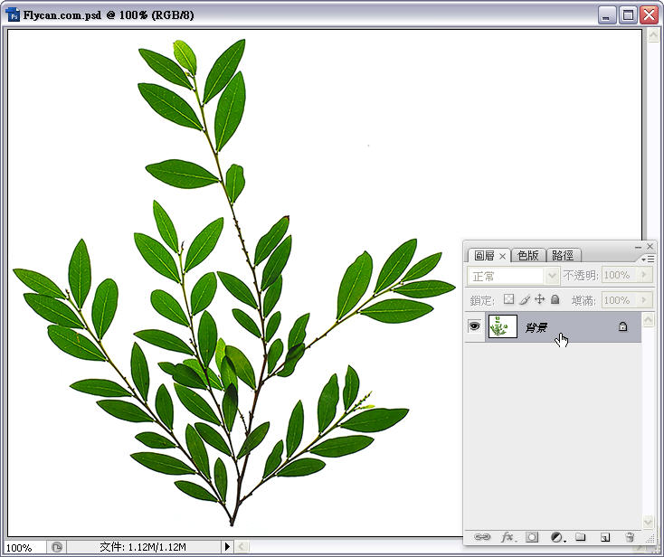 Photoshop 影像設計  - Photoshop 去背教學 - Alpha Channel 去背入門練習 - alpha_channel_00