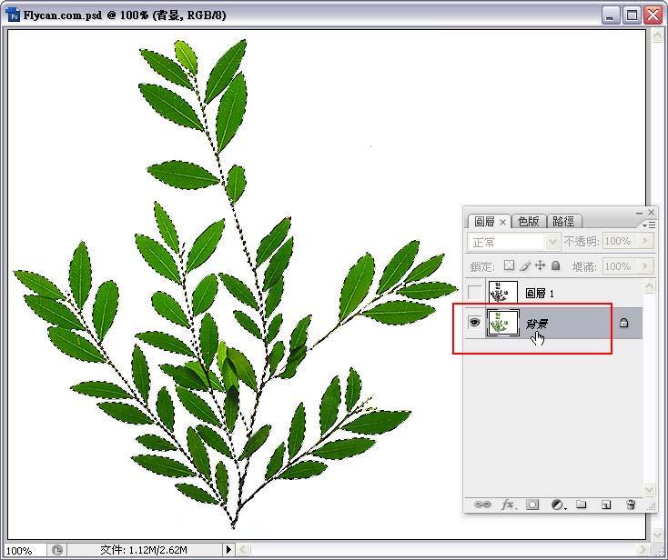 Photoshop 影像設計  - Photoshop 去背教學 - Alpha Channel 去背入門練習 - alpha_channel_10