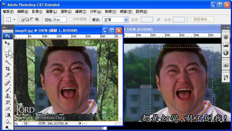 Photoshop 影像設計  - Photoshop 遮色片教學 - 移花接木 - 合成變臉 - face_off_02
