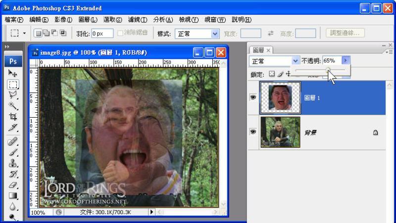 Photoshop 影像設計  - Photoshop 遮色片教學 - 移花接木 - 合成變臉 - face_off_03