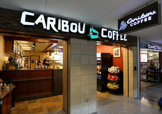 Caribou Coffee Denver International Airport