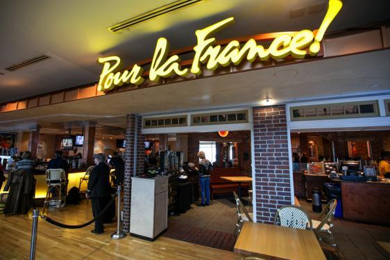 Pour La France Denver International Airport