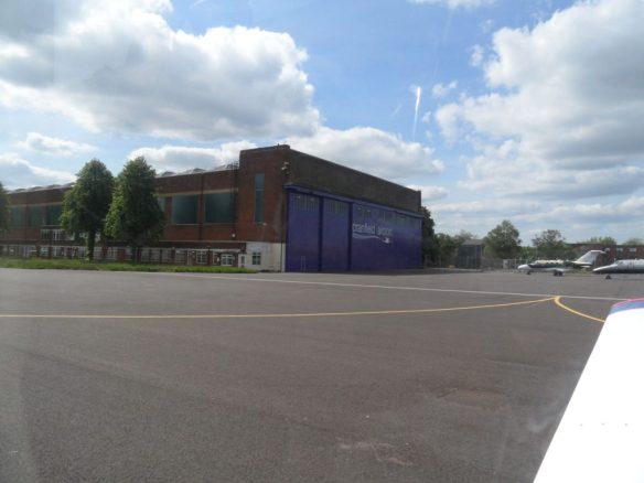 Cranfield Airport buildings
