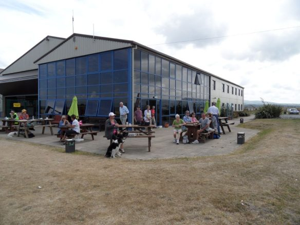Caernarfon airport cafe