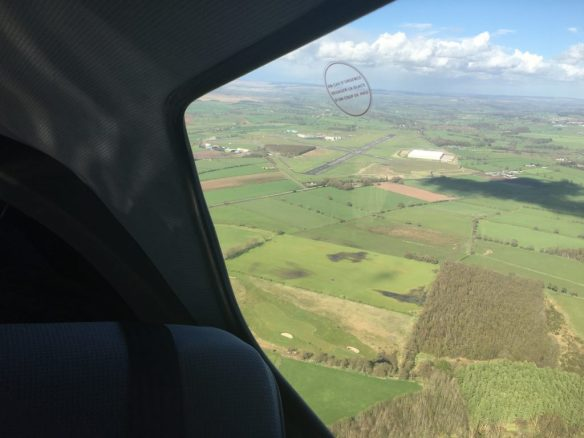 Climbout from Carlisle