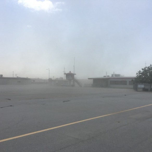 Dust Storm passing through