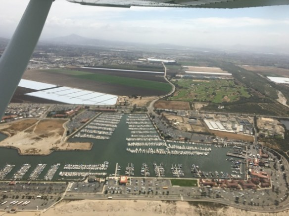 Overhead Ventura, just north of Oxnard